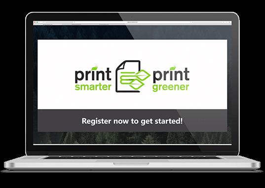 print smarter print greener register now